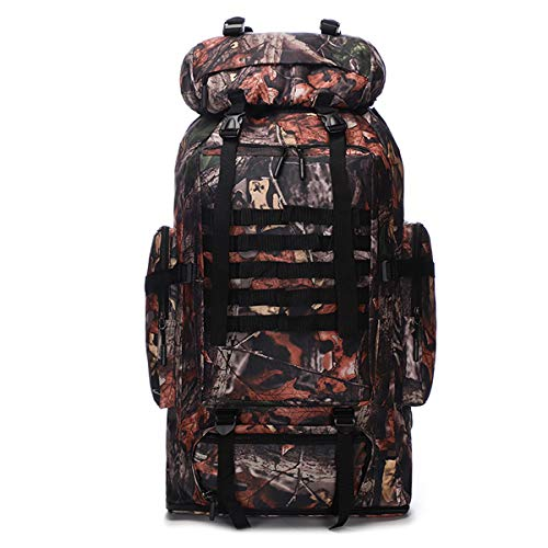Waterproof Climbing Hiking Military Tactical Outdoor Backpack Bag 70L/100L Camping Traveling Daypack Large Oxford Backpack