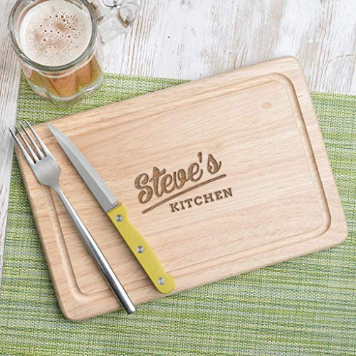 Housewarming Gifts For Men, Friends, Guys - Personalised Chopping Board/Cheese Board - New Home Gifts for Friends - Christmas Gifts For Him - 4 BOARDS TO CHOOSE FROM!