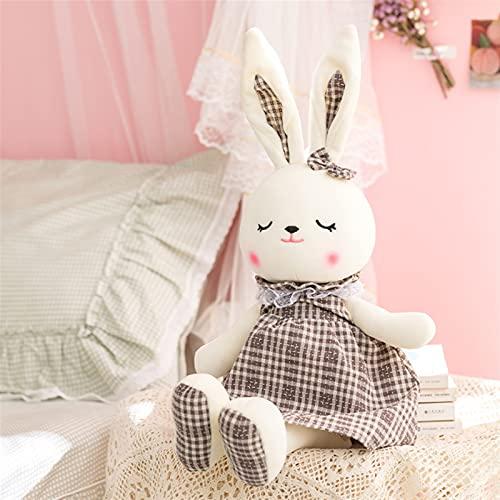 MENGLING 2021lovelamente Peluche de Peluche Juguetes Muñeca para niños Animales de Peluche Muñeca Juguetes de Conejo encantadores para niños Bebé Juguetes para niños Regalo