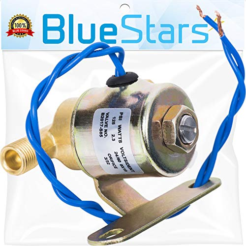 Ultra Durable B2015-S85 B2017-S85 4040 Humidifier Solenoid Valve Replacement part by Blue Stars - Exact Fit for Aprilaire Humidifiers 24V 2.3W 60Hz Models 220 224 400 400M 440 500 600 600M 700