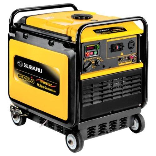 Subaru RG3200iS, 2800 Running Watts/3200 Starting Watts, Gas Powered Portable Inverter