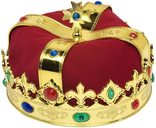 WIDMANN 3047Q - Corona Reale con Gemme, in Taglia Unica