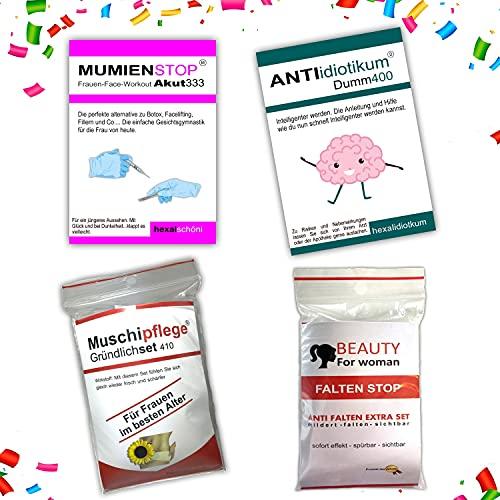 Kackspecht Lustige Geschenkidee für Frauen   Spaßgeschenk   Scherzartikel   Muschipflege   gemeine Geschenkidee Geburtstag