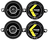 4) Kicker 43DSC3504 3-1/2' 3.5' 160 Watt 2-Way Car Audio Speakers DSC35 DS35
