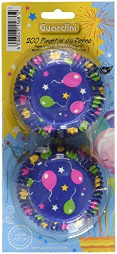 Guardini 4223015681 Muffin-Papierbackförmchen Luftballons