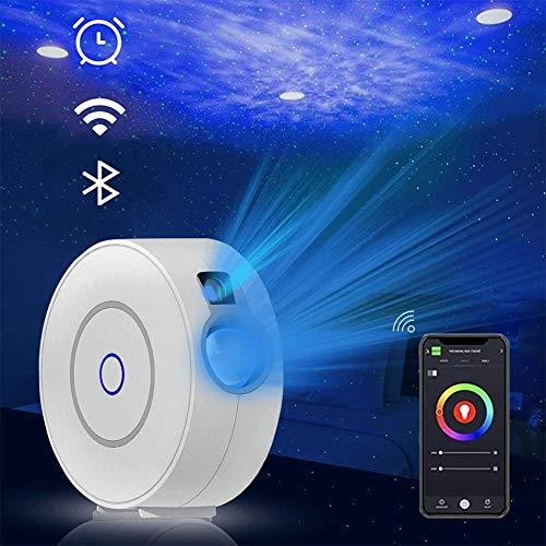 Star Projector Night Light - LED Galaxy Projectorwifinight Light Geeignet für Spielzimmer, Heimkino oder Babyzimmer, gesteuert von App