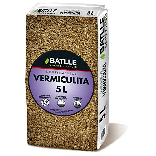 Sustratos Ecológicos - Sustrato Humus Lombriz 25l. - Batlle + Sustrato Vermiculita 5L - Batlle