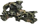 Large Rock Formation Artificial Aquarium Aquascape & Fish Tank Decoration Ornament, Fish, Reptile & Turtle Safe Polyresin