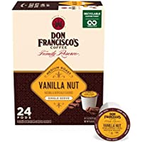 24-Count Don Francisco's Vanilla Nut Flavored Single-Serve Coffee Pods