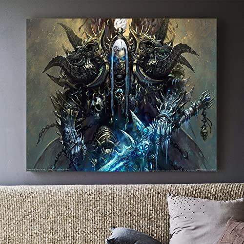 Puzzle 1000 pezzi Pittura decorativa dell'immagine artistica della pittura di World of Warcraft puzzle 1000 pezzi clementoni Puzzle educativi intellettuali decompressivi gioca50x75cm(20x30inch)