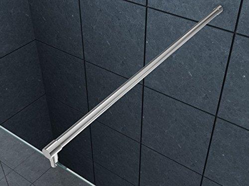 150 cm Runde Hochwertige verchromte Stabilisierungsstange, Haltestange für Duschtrennwand, Duschwand, Duschabtrennung Düsseldorf