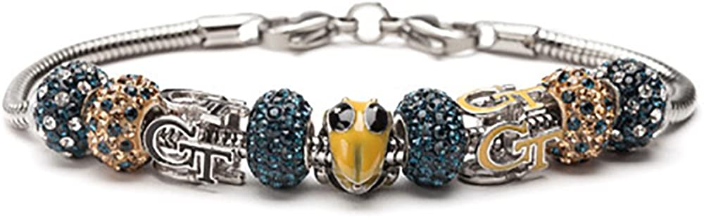 Georgia New Orleans Mall Tech Bracelet Washington Mall GT Yellow Beads - Jackets 3