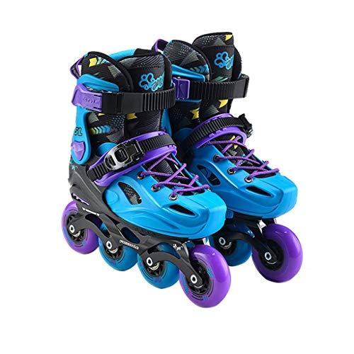 Taoke Roller Skates, Skate Set, Kinder Inline Skates, Anfänger Roller Skates (Farbe: Blau, Größe: S (28-31 Meter) 3-7 Jahre alt) dongdong (Color : Blue, Size : S (2831 Yards) 37 Years Old)