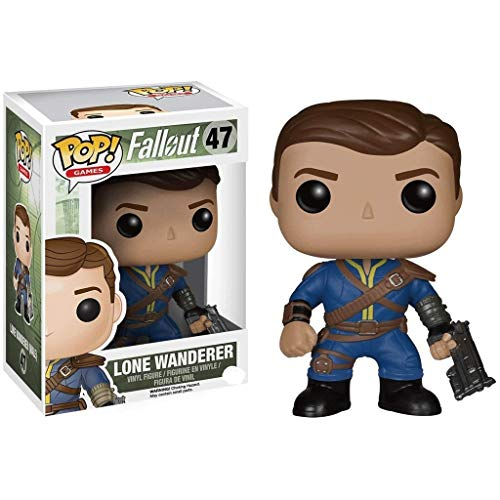 Funko Pop Games : Fallout - Lone Wanderer 3.9inch Vinyl Gift for Boys Games Fans for Boy