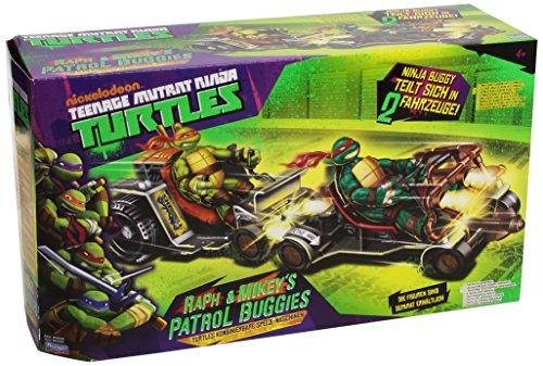 Stadlbauer 14094034 - Patrol Buggy ATV's Raph und Mike, ohne Figuren