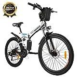 """Bicicletta Elettrica Pieghevole, Bici al Lavoro, E-Bike -Fold 20""""/26"""", Adulto, 250W Batteria 36V..."""