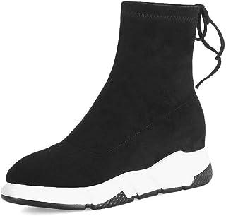 BalaMasa Womens Nubuck Solid Walking-Shoes Urethane Walking Shoes ABM13332