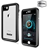 Temdan 33ft/10m Deep Floatable Waterproof Case for iPhone 6/6s(4.7inch) with Float Strap-Black/…