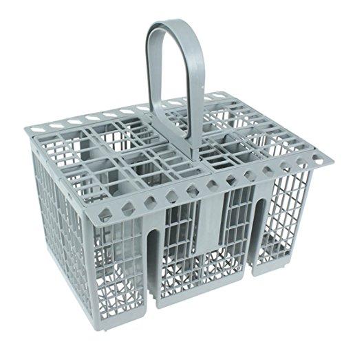 Spares2go – Panier à couverts pour lave-vaisselle Hotpoint, gris