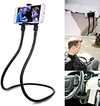 B-Land Cell Phone Holder, Universal Mobile Phone Stand, Lazy Bracket, DIY Free Rotating Mounts with Multiple Function (Black)