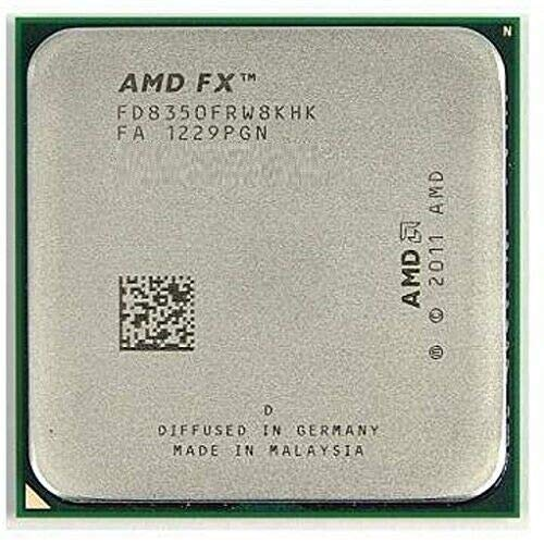 AMD FX-8350 4.0 GHz (4.2 GHz Turbo) 8-Core Socket AM3+ OEM Ver. Processor CPU with Thermal Paste
