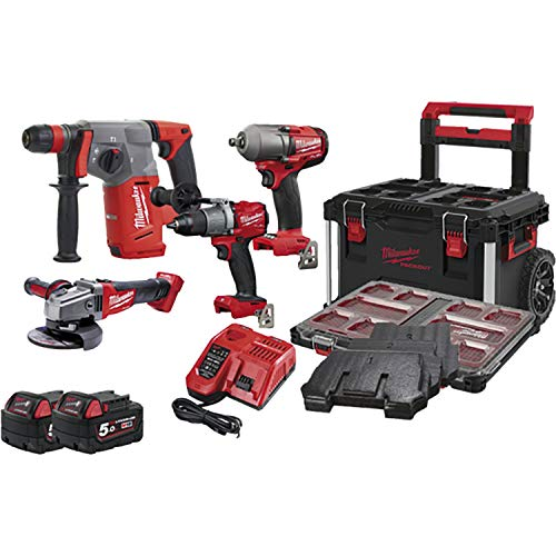 Milwaukee Batería M 18 PP4A4-503X 18,0 V/5,0 Ah (IEC) Ion de Litio.