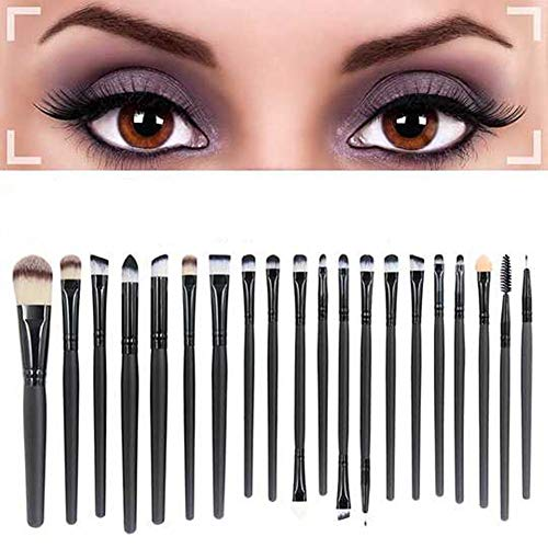 Cosanter 20er Set Make-up Kosmetik Pinsel-Set Schminkpinsel Aufbewahrung Auge Lidschattenpinsel...