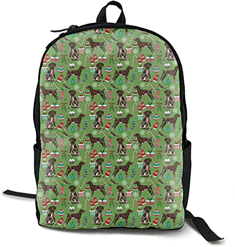 VAADIOSII La mochila de viaje de campus para niños y niñas con impresión completa se puede personalizar,Mochila escolar de pelo corto de poliéster ligero Mochilas escolares Laptop
