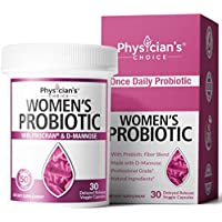 30-Count Physician's Choice Prebiotics & Probiotics Vegan Capsules