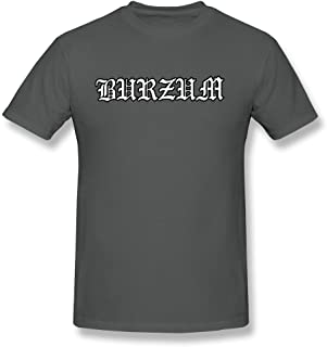 LLangla Men's Burzum T Shirt Black
