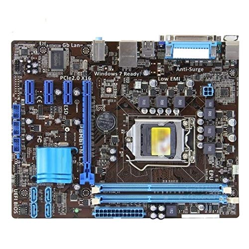 Placa MAPINARIA Fit For ASUS P8H61-M LX Placa Madre Original DDR3 LGA...