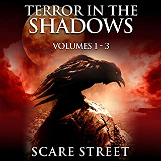 Terror in the Shadows, Volumes 1 - 3 audiobook cover art