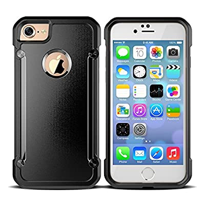 """iPhone 7 case,Hard Back PC Cover Anti-Scrath Reinforced Covtner and Bumper Case for iPhone 7 4.7"""""""