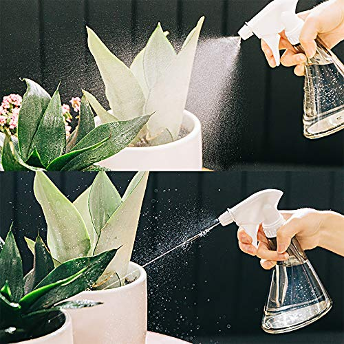 con ugello regolabile per piante giardino HASAGEI in plastica pulizia capelli 3 flaconi spray da 500 ml
