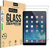 iSOUL Bildschirmschutzfolie/Panzerglasfolie für iPad 4, iPad 3 & iPad 2, [2 Stück] 9H HD, Bruchsichere Schutzfolie [9,7 Zoll] Gehärtetem Glas