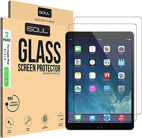 Paquete DE 2 Protector de Pantalla para Apple iPad 2 3 4 pel