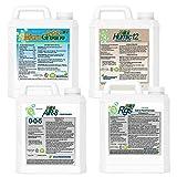 N-Ext Bio-Stimulant Liquid Fertilizer by Greene County Fertilizer - 4 Gallons - Humic Acid for Lawns - Sea Kelp - Root Growth Stimulant (RGS)