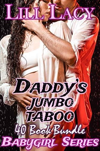 Daddy's JUMBO TABOO 40 Book Bundle