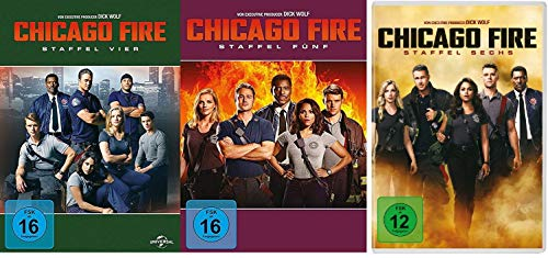 Chicago Fire - Staffel 4-6 (18 DVDs)