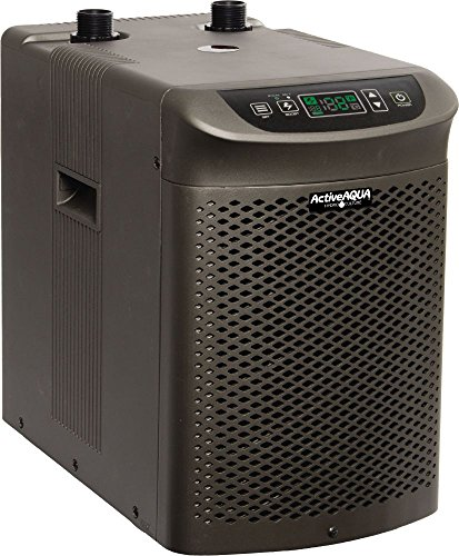 Active Aqua AACH10HP Water Chiller Cooling System, 1/10 HP, Rated per hour: 1,020 BTU, User-Friendly,Black