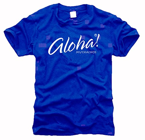 shirtstore Aloha Muchachos – T-Shirt pour Homme, Taille XXL