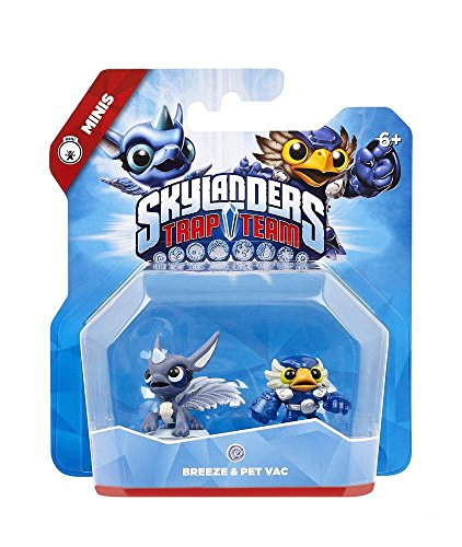 Skylanders Trap Team: Mini 2 Pack (Breeze, Pet-Vac)