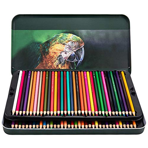 Colored Pencils 72 Count SetSoft Core PreSharpened Drawing Pencils for Adults and Children