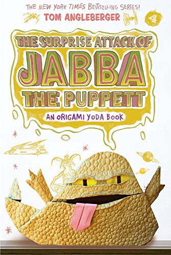 Compare Textbook Prices for The Surprise Attack of Jabba the Puppett Origami Yoda #4 Illustrated Edition ISBN 9781419720307 by Angleberger, Tom