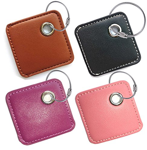 Fashion Key Chain Cover Style Accessories for Tile Skin Phone Finder Key Finder Item Finder (only case, NO Tracker Included). for Old Mate and New ttile Mate Supports Removable Battery.