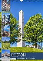 BOSTON Historie und urbane Idylle (Wandkalender 2022 DIN A3 hoch): Sehenswuerdigkeiten und Wahrzeichen (Monatskalender, 14 Seiten )