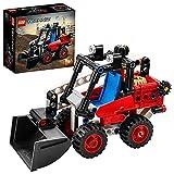 LEGO 42116 Technic 2en1 Minicargadora, Excavadora o Hot Rod, Modelo y Coche de Juguete, Vehículo de Construcción