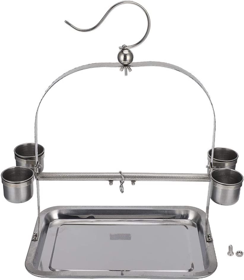 qing niao Stainless Steel cage Stand Charlotte Mall Parrot Long Beach Mall