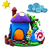 Wiki Spielzeug für 4-10 jährige Mädchen Jungen, Modellieren Lehm für Kinder Geschenke für 4-10 Jahre alte Mädchen Jungen DIY Luft Trocken Lehm Spielzeug für Jungen im Alter von 4-10