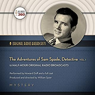 The Adventures of Sam Spade, Detective, Vol. 1 cover art